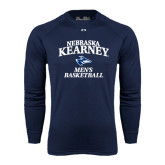 Under Armour Navy Long Sleeve Tech Tee-Mens Basketball