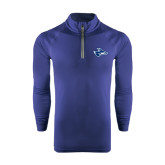 Under Armour Navy Tech 1/4 Zip Performance Shirt-Loper Head