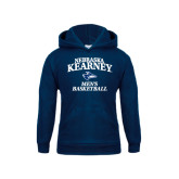 Youth Navy Fleece Hoodie-Mens Basketball