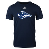 Adidas Navy Logo T Shirt-Loper Head