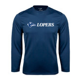 Performance Navy Longsleeve Shirt-Lopers Flat