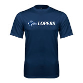 Syntrel Performance Navy Tee-Lopers Flat