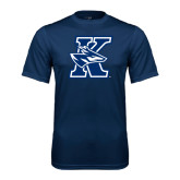 Performance Navy Tee-K Logo