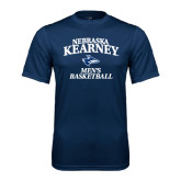Performance Navy Tee-Mens Basketball