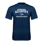 Performance Navy Tee-Track & Field