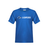 Youth Royal T Shirt-Lopers Flat