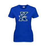 Ladies Royal T Shirt-K Logo