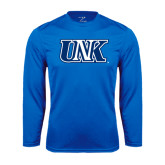 Performance Royal Longsleeve Shirt-Official Logo