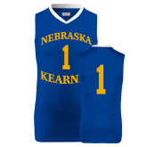 Replica Royal Adult Basketball Jersey-#1