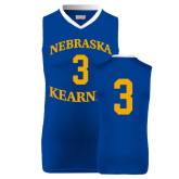 Replica Royal Adult Basketball Jersey-#3