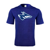 Performance Royal Heather Contender Tee-Loper Head