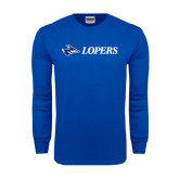 Royal Long Sleeve T Shirt-Lopers Flat