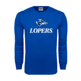 Royal Long Sleeve T Shirt-Head over Lopers