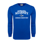 Royal Long Sleeve T Shirt-Cross Country