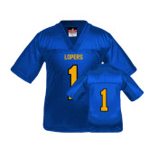 Youth Replica Royal Football Jersey-#1
