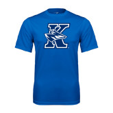 Performance Royal Tee-K Logo