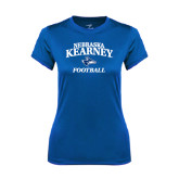 Ladies Syntrel Performance Royal Tee-Football