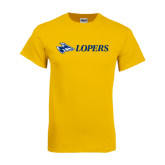 Gold T Shirt-Lopers Flat