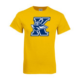 Gold T Shirt-K Logo