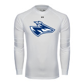 Under Armour White Long Sleeve Tech Tee-Loper Head