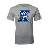 Grey T Shirt-K Logo