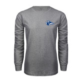 Grey Long Sleeve T Shirt-Loper Head