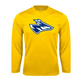 Performance Gold Longsleeve Shirt-Loper Head