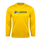 Syntrel Performance Gold Longsleeve Shirt-Lopers Flat