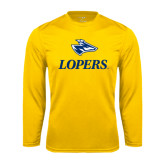 Syntrel Performance Gold Longsleeve Shirt-Head over Lopers