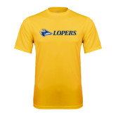 Syntrel Performance Gold Tee-Lopers Flat