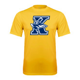 Syntrel Performance Gold Tee-K Logo