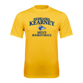 Performance Gold Tee-Mens Basketball