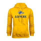 Gold Fleece Hoodie-Head over Lopers