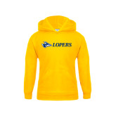 Youth Gold Fleece Hoodie-Lopers Flat
