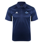 Adidas Climalite Navy Jaquard Select Polo-Loper Head