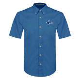 Royal Twill Button Down Short Sleeve-Loper Head