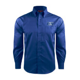Red House French Blue Long Sleeve Shirt-Official Logo