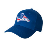 Royal Heavyweight Twill Pro Style Hat-American Flag Loper Head