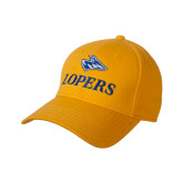 Gold Heavyweight Twill Pro Style Hat-Head over Lopers