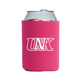 Collapsible Hot Pink Can Holder-Official Logo