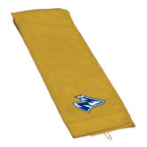 Gold Golf Towel-Loper Head