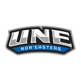 Large Decal-UNE Nor Easters, 12 inches wide