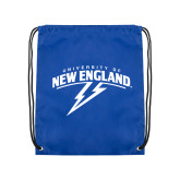 Royal Drawstring Backpack-University of New England