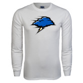 White Long Sleeve T Shirt-Cloud