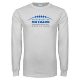 White Long Sleeve T Shirt-Inauguration Marks