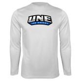 Syntrel Performance White Longsleeve Shirt-Hockey