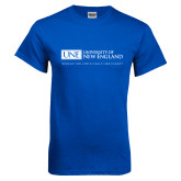 Royal T Shirt-University Mark Flat