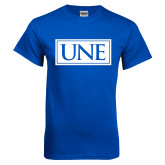 Royal T Shirt-University Mark UNE