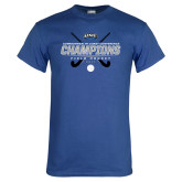 Royal T Shirt-2017 Field Hockey Champions