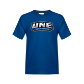 Youth Royal T Shirt-UNE Nor Easters